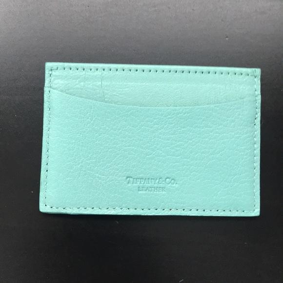350f10edcf Tiffany & Co. Bags | Tiffany Co Leather Credit Card Holder | Poshmark